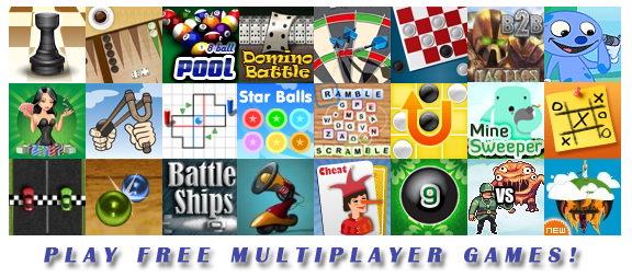 Play free multiplayer games!