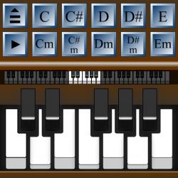 Virtuelni piano - sviraj klavir uz pratnju po akordima