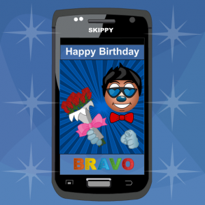 Bravo Greeting Card Icon