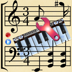 Piano Studio by VojaMaher - naj muzički program za android!