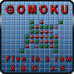 Five in a row - Gomoku for android