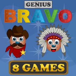 Bravo Genius - main BravoGames by MaherGames